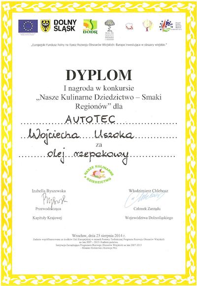 I nagroda Nasze Kulinarne Dziedzictwo - Smaki Regionów